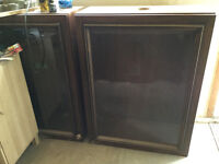 Two Large Upper Cabinets