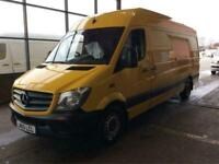 2016 16 MERCEDES-BENZ SPRINTER MWB HIGH ROOF 6 SPEED 313 CDI PREMIUM PACK WITH A