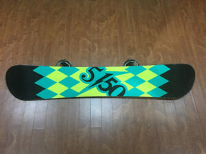 Snowboard 166cm with bindings
