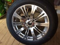 Alloy wheel 225/557/r17