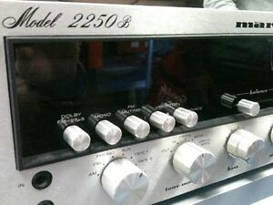 Vintage MARANTZ 2250B Serviced by a long time Authorised Tech