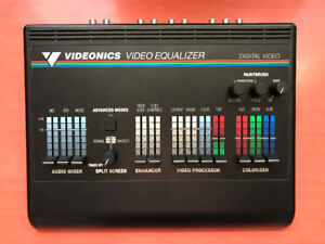 Videonics video equalizer IN BOX with power supply RARE