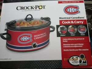 MONTREAL CANADIANS SLOW COOKER