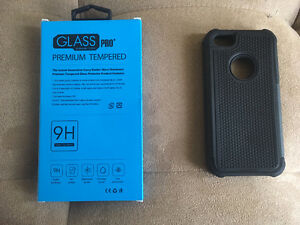iphone case/screen protector 5,5s,se