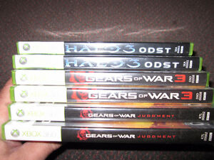 XBox 360 Games - Gears...3, Gears ... Judgment, Halo 3 - ODST Kitchener / Waterloo Kitchener Area image 6