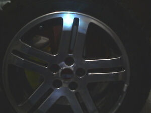 2006 Dodge Charger R/T Factory Rims and Blizzack winter tires