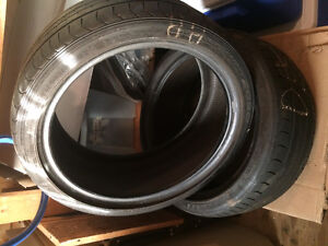 2 Summer tires size 18