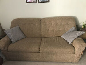 Selling comfy pull out couch