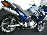 Honda Varadero 125 XL125V (Blue/ Silver) 55 Plate 1 Owner Mot'd & Lovely Condition
