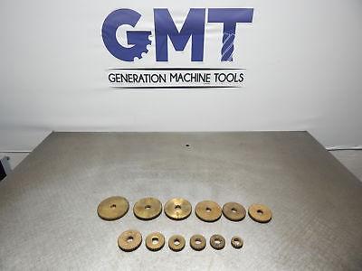 12 Hardinge Lathe Hlv-h Brass Change Gears Gmt-1162