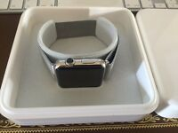 Apple Watch 42mm Milanese loop with original boxes and documents swap for MacBook Air