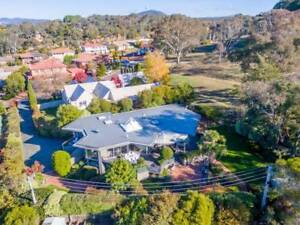 Exclusive Lyneham Residence Backing Reserve