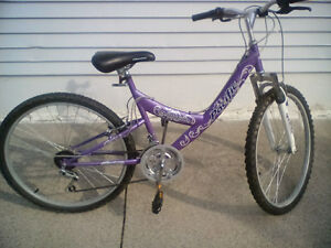 i have a ladys brand new mountian bike for sale
