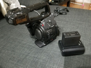 Canon C100 with Dual Pixel Upgrade
