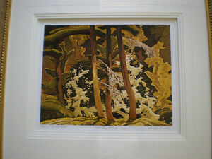 "Franklin Carmichael-""Wild Cherry Blossoms""-Limited Edition Print Kitchener / Waterloo Kitchener Area image 3"