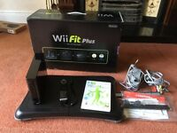 Nintendo Wii + Wii Fit. BOXED as new.