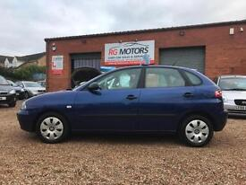 2004(54) Seat Ibiza 1.2 12v 5dr Hatchback, Blue, **ANY PX WELCOME**