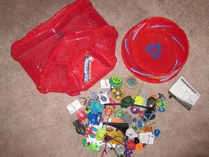 Beyblades toy lot -