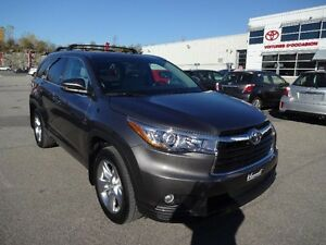 Toyota Highlander LIMITED AWD CUIR TOIT PANORAMIQUE 2015