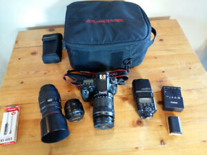Canon 70D DSLR including Lenses and Accessories