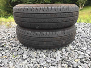 Two P175/70R14 Summer Tires
