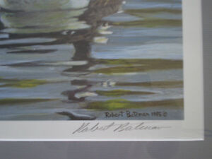 """Robert Bateman Signed A/P """"Canada Geese with Young""""- Print Kitchener / Waterloo Kitchener Area image 7"""