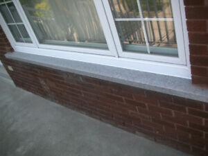 stone window sill