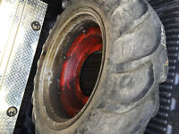 WANTED: 2 Rear rims & tires for Ford 9N Tractor (est. 1940)