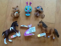 lot papo, schleich et pet shop