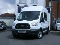 2015 Ford Transit 350 HR PV L3 H2 Welfare Bus Panel Van Diesel Manual