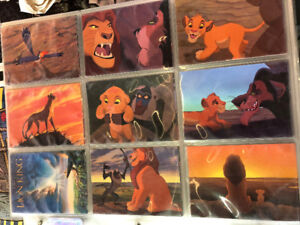 Skybox Disney Trading Cards