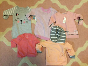 6-12 month girl sweaters