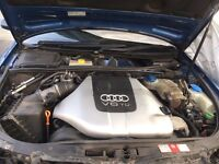 Audi A4 B6 2.5 v6 engine and 6speed gearbox