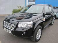 Land Rover Freelander 2 2.2Td4 auto 2008MY SE Black LOW LOW MILEAGE