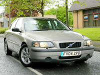 2004 04 Volvo S60 2.4 D5 S 4dr Manual WITH FULL SERVICE HISTORY+MOT APRIL 2018