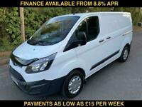 2015 FORD TRANSIT CUSTOM 2.2TDCi ( 100PS ) ECOnetic 270 / NO VAT TO PAY