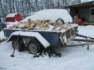 Split Pine and Spruce Firewood