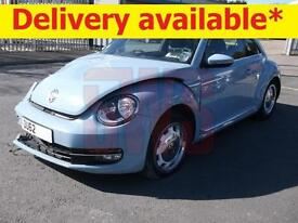 2013 Volkswagen Beetle 1.2 TSI DSG Design DAMAGED REPAIRABLE SALVAGE