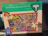ELC busy town floor puzzle