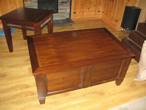Buffet Table matching End Tables