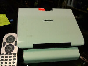 PHILIPS Portable DVD Player with remote & case $40