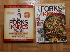 Forks Over Knives Plan Book and Magazine