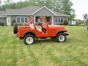 1979 CJ 5 Jeep also Military M38 Jeep not a CJ2A, 3A or MB