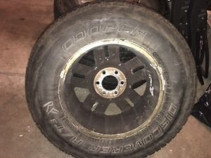 """18"""" Ford wheels and rubber Peterborough Peterborough Area image 3"""