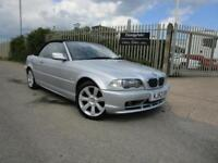 2003 52 E46 BMW 318 Ci 2.0 AUTOMATIC CONVERTIBLE FULL LEATHER 80K LOW MILES FSH