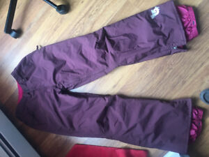 Burton insulated women's snow boarding pants size large