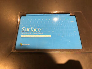 Light Blue Microsoft Touch (Keyboard) Cover - with Backlighting
