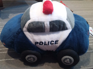 Brand New Plush Pets Kids Police Pillow