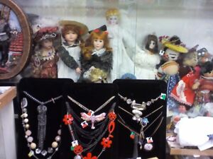 Costume JEWERLY, HEARTBEAT Thrift Store, BayView Mall,Belleville