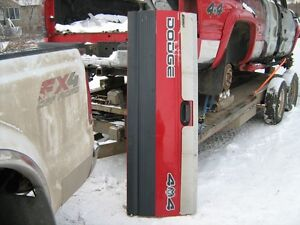 1994- 2002 Dodge tail gate red in very good shape no rust